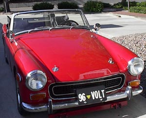 Mg midget convert to automatic