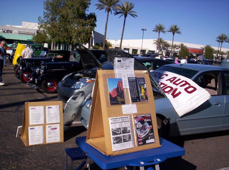 Electric Auto Association Phoenix Chapter - Pavilions car show